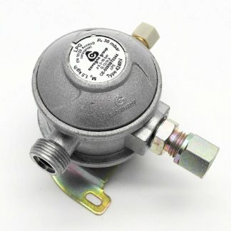 30Mbar 10Mm 90 Degree Caravan Regulator And Motorhome Regulators (1077)