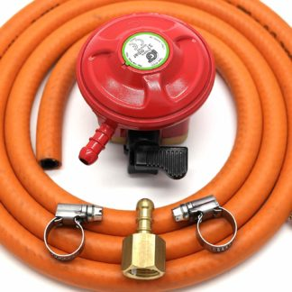 Igt Patio Gas 27Mm Gas Regulator Replacement Hose Kit For Uk Outback Models