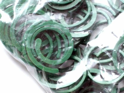 50 X Reusable 30Mm Plastic Plant Rings Plant Ties