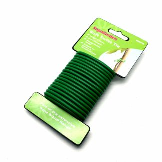 Soft Twist Rubber Coated 4-5Mm Garden Wire Plant Ties  5M (16 Feet) Long
