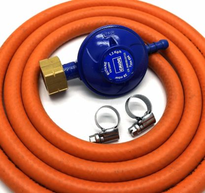 Calor Gas Brand 4.5Kg Butane Gas Regulator 2Mt Hose & 2 Clips 5 Year Warranty
