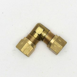 British Made 90 Degree 10Mm To 10Mm Bend Brass Compression Fitting  (15)
