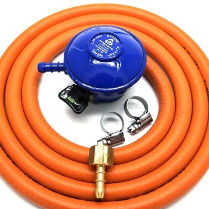 Cavagna 21Mm Butane Gas Regulator Conversion Kit For Most Weber Q & Lp Models