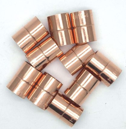 10Mm End Feed Copper Equal Straight Coupling 10 pack (79)