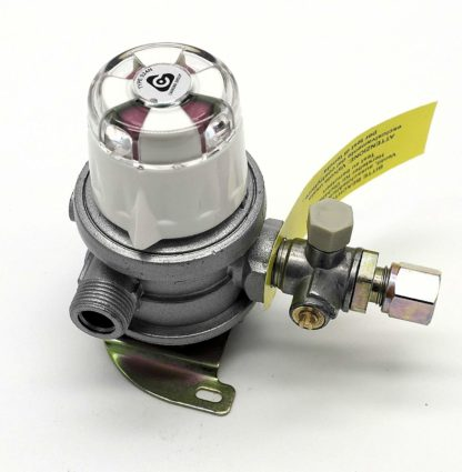 30Mbar 8Mm 2 Cylinder Auto Changeover Caravan And Motorhome Regulator (0332)