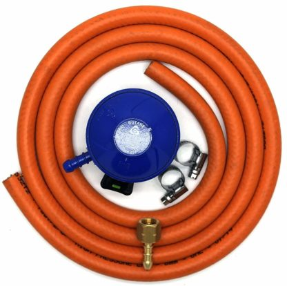 Cavagna 21Mm Butane Gas Regulator Replacement Hose Kit For Uk Cadac Lp Models