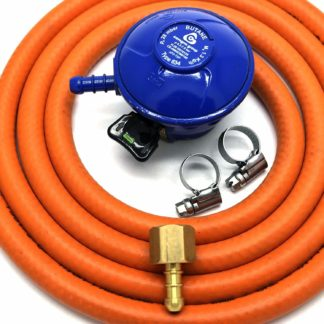 Cavagna 21Mm Butane Gas Regulator Replacement Hose Kit For Uk Outback Models