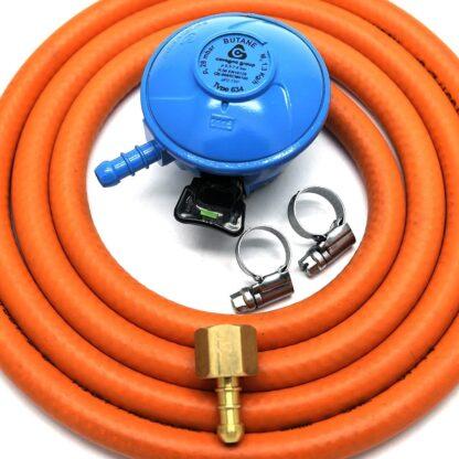 Cavagna 20Mm Butane Gas Regulator Replacement Hose Kit For Uk Outback Models