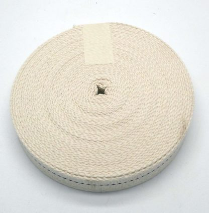 "10 Meters Of Replacement 1"" (2.5Cm) Flat Wick For Paraffin Heaters (99)"