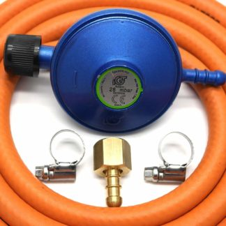 Igt Campingaz Butane Gas Regulator  Hose Kit Uk Outback Models 5 Year Warranty
