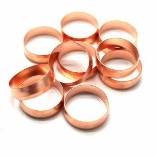 10 X 22Mm Copper Compression Olives