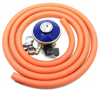Hg Replacement 21Mm Butane 2M Hose Kit Fits Calor Gas & Flogas 21Mm Cylinders