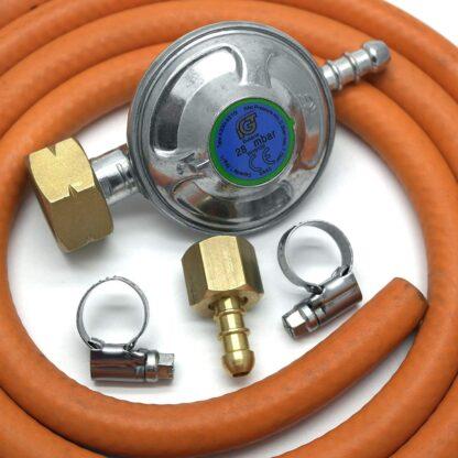 Igt 4.5Kg Butane Gas Regulator Replacement Hose Kit For Uk Outback Models