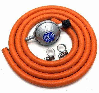 Calor Gas Brand Campingaz Gas Regulator 1Mt Hose/Pipe & 2 Clips 5 Year Warranty
