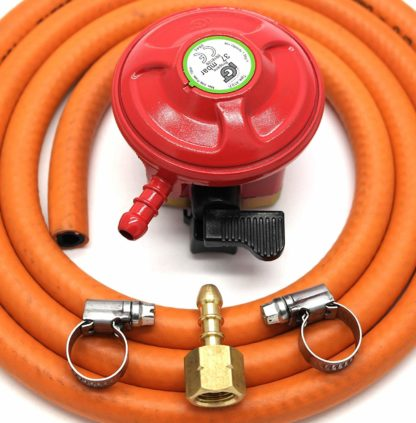 Igt Patio Gas 27Mm Gas Regulator Replacement Hose Kit For Uk Cadac Lp Models