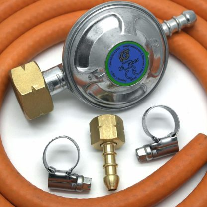 Igt 4.5Kg Butane Gas Regulator Replacement Hose Kit For Uk Cadac Lp Models