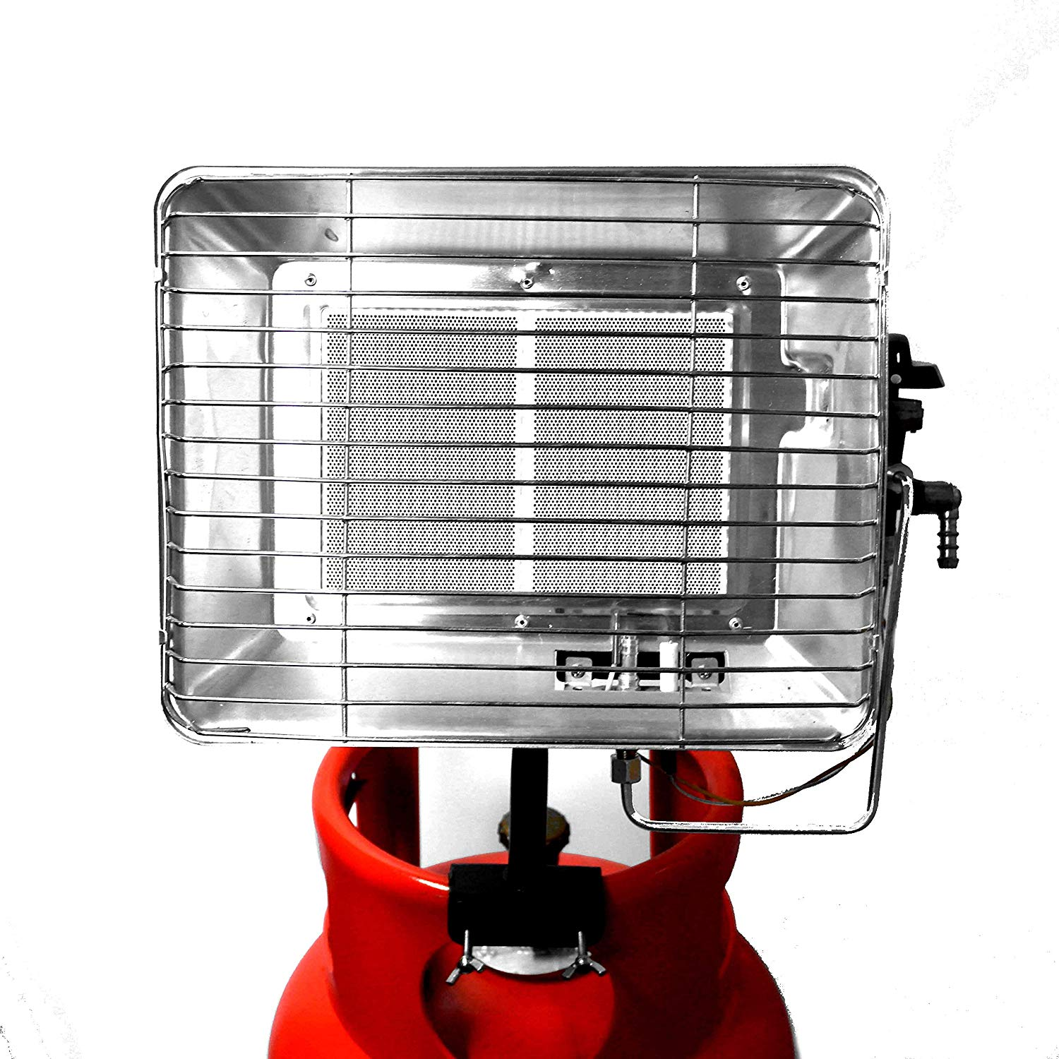 3 7kw Bottle Mounted Gas Heater With Pilot Flame Fail