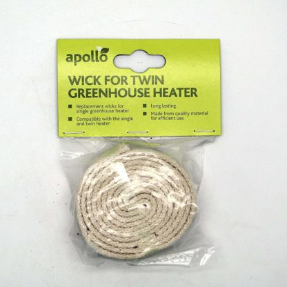 "Replacement 1"" (2.5Cm) Wicks For Paraffin Greenhouse Heaters 4 Pack 1 Inch Wick"