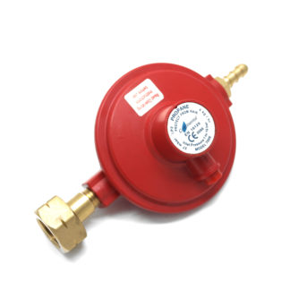 Irish Market 4Kgh 37Mbar Stranded Propane Gas Regulator  21.8 Lh Roi