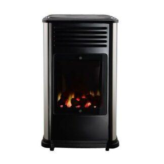 Manhattan Real Flame Coal Effect Calor Gas Mobile Portable Heater