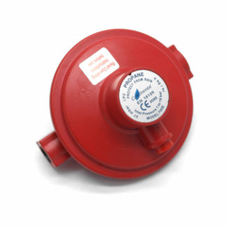 Wall Mountable Inline 37Mbar Propane Gas Regulator 4Kgh