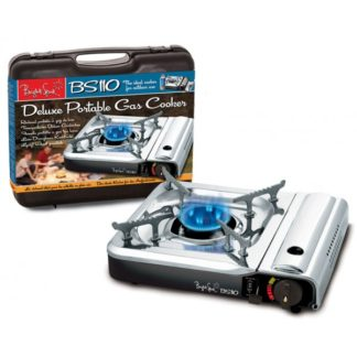 Bright Spark Deluxe Portable Camping Stove With Case BS110