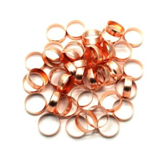 50 X 22Mm Copper Compression Olives
