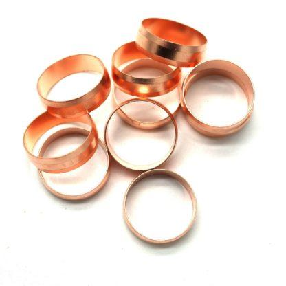 50 X 22Mm Copper Compression Olives